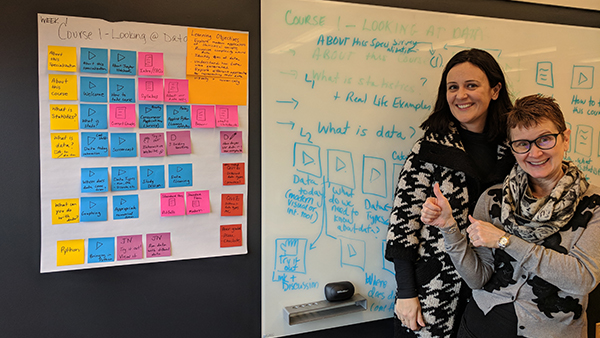 Using Chart Paper And Sticky Notes To Bring Curriculum Design Into Focus Center For Academic Innovation
