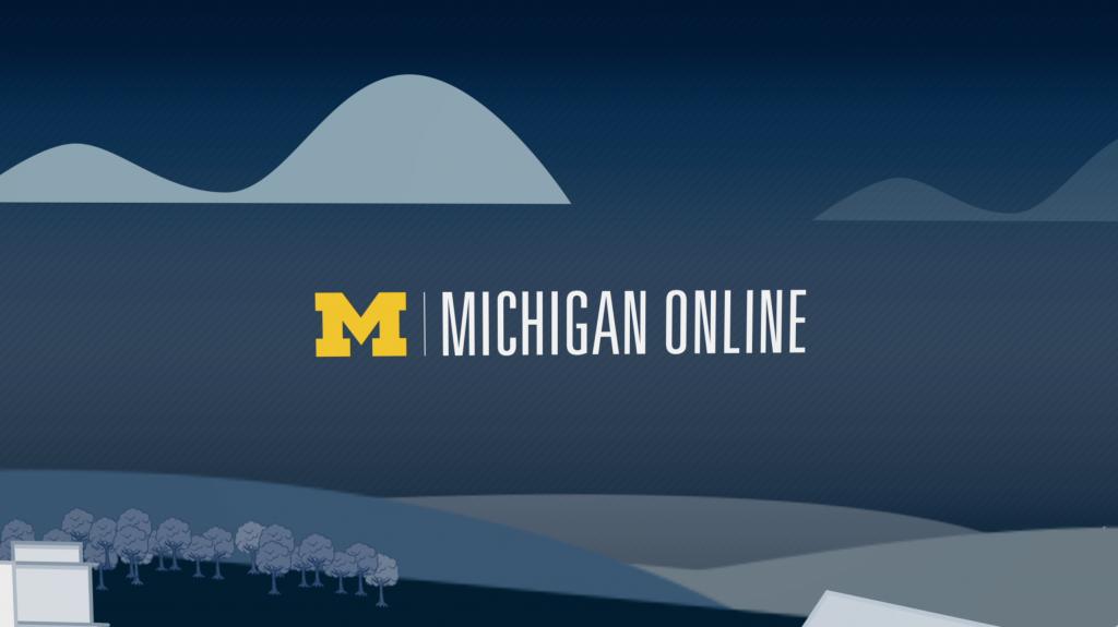 Michigan online graphic banner