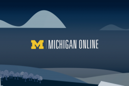 Michigan online graphic banner