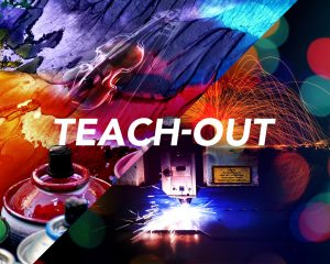 Arts and Technology Teach-Out Background Image