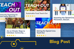 Collection of Teach-Out course images