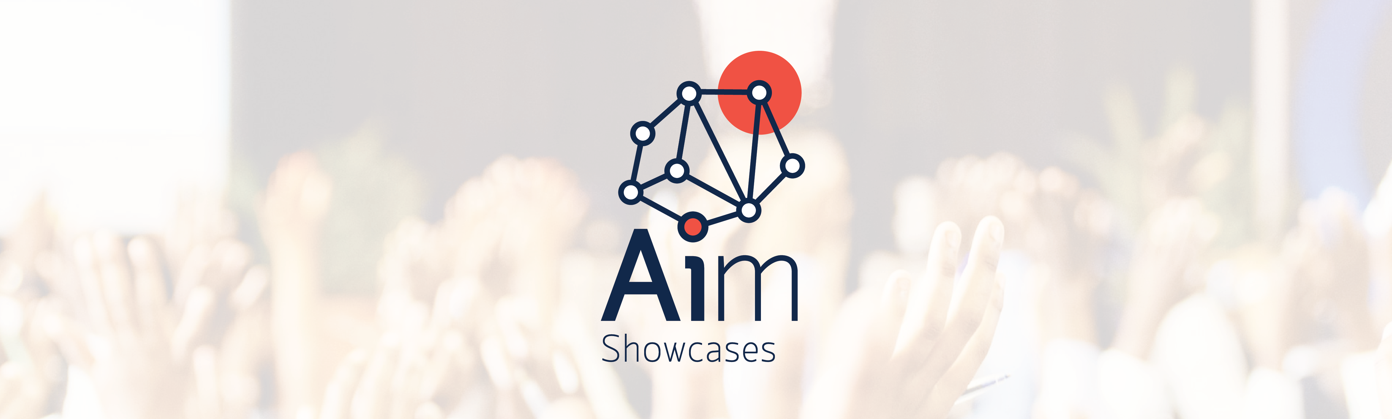 AIM Showcases logo with connecting dots