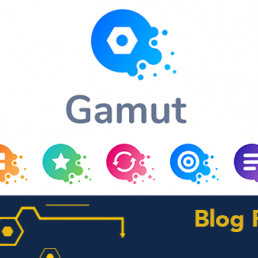 Gamut logo with icons underneath. Blog Post.