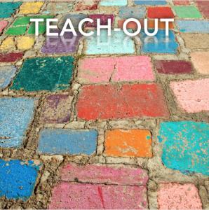 Teach-Out colored bricks
