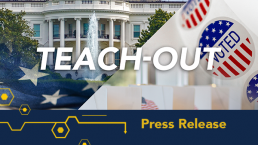Teach Out Press Release Graphic