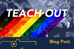 Pride Teach-Out logo featured image