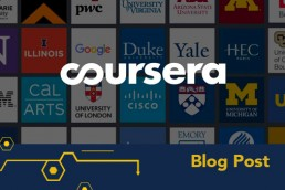 coursera graphic featuring partner institutions