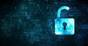 digital padlock unlocked