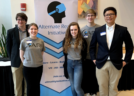 student members of Alternate Reality Initiative