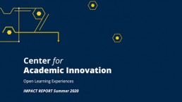 Open Learning Experiences Impact Report Summer 2020