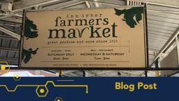 Ann Arbor Farmers Market sign