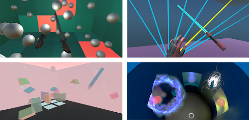 Virtual Interfaces for Musical Expression (VIME) student projects