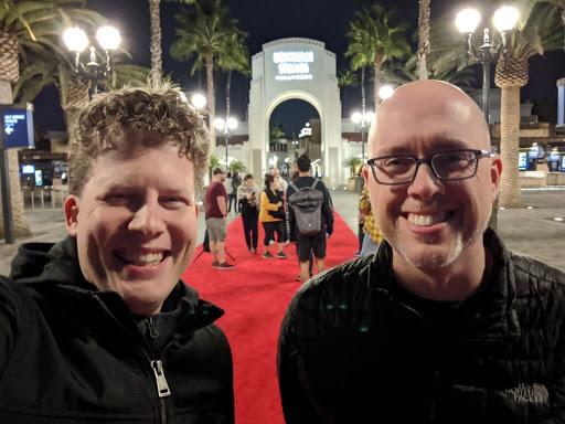 Michael Nebeling, left, and Jeremy Nelson