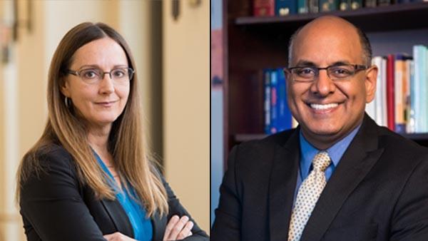 Liz Gerber and Rajesh Mangrulkar