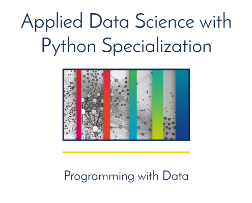 Applied Data Science with Python Specialization