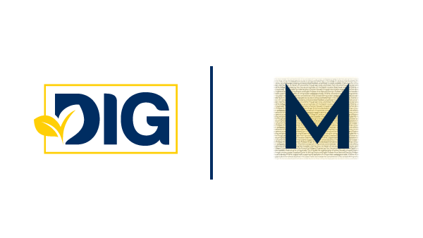 Digital Innovation Greenhouse and M-Write Logos