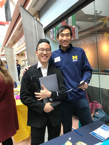 AI student and AI staff member