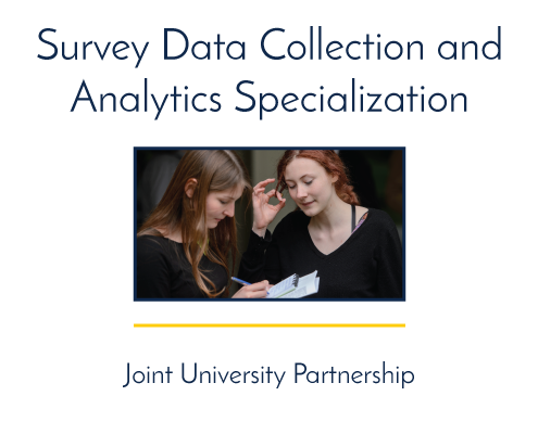 Survey Data and Analysis Specialization