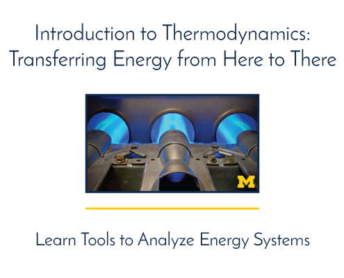 Introduction to Thermodynamics: Transfering Energy from Here to There