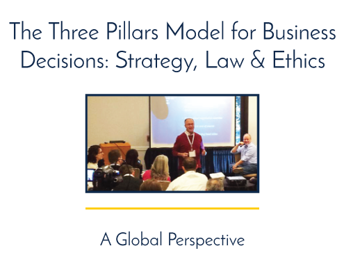 The Three Pillars Model for Business Decisions: Strategy, Law & Ethics