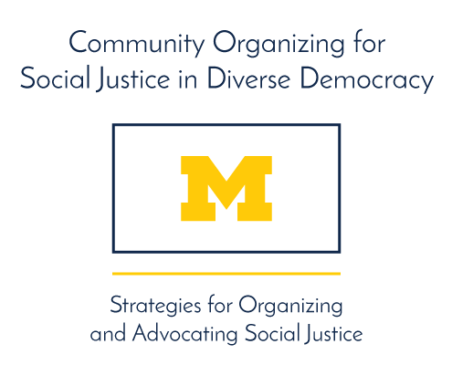 Community Organizing for Social Justice in Diverse Democracy