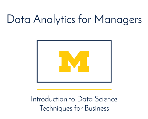 Data Analytics for Managers