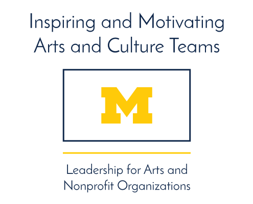 Inspiring and Motivating Arts and Culture Teams