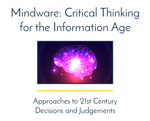 Mindware Critical Thinking for the Information Age