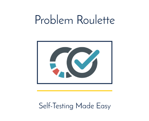 Problem Roulette, Self-Testing Made Easy