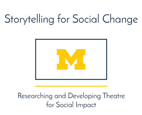 Storytelling for Social Change. Researching and Developing Theatre for Social Impact.