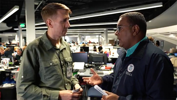 Will Potter interviews FEMA Deputy Field Coordinator